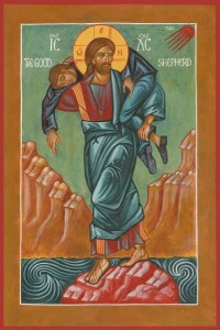 Good Shepherd with Person Icon